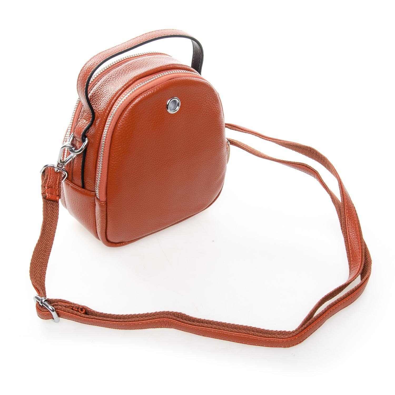 Сумка Женская Клатч кожа ALEX RAI 03-1 3905-6 brown - фото 3