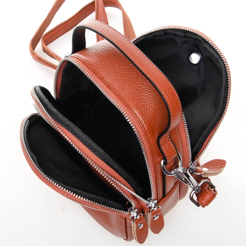 Сумка Женская Клатч кожа ALEX RAI 03-1 3905-6 brown - фото 4