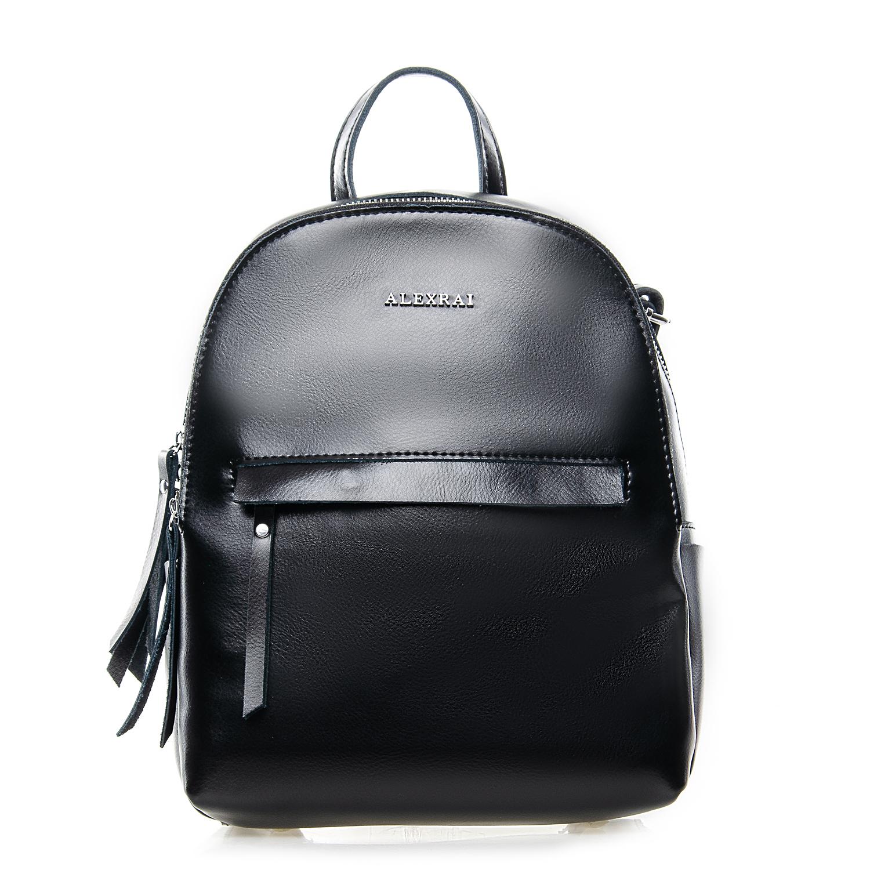 Сумка Женская Рюкзак кожа ALEX RAI 7-02 337 black