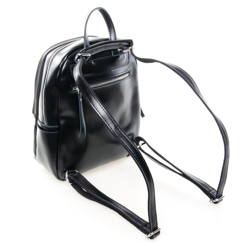 Сумка Женская Рюкзак кожа ALEX RAI 7-02 337 black - фото 4