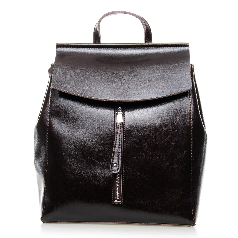 Сумка Женская Рюкзак кожа ALEX RAI 7-02 3206 brown