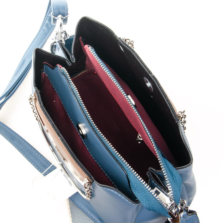 Сумка Женская Классическая иск-кожа FASHION 7-03 11923-3 blue - фото 5