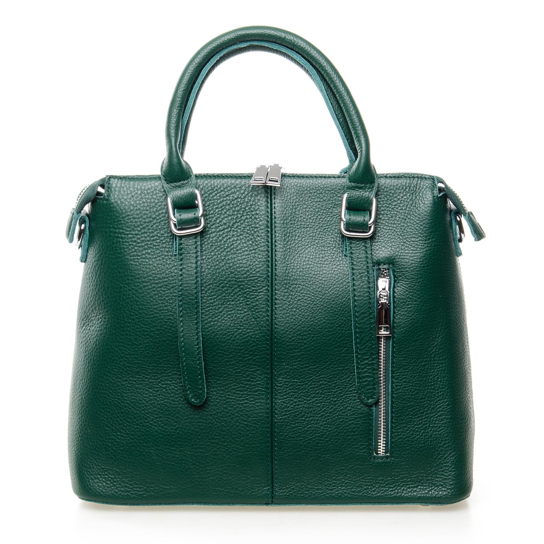 Сумка Женская Классическая кожа ALEX RAI 7-01 7125 green