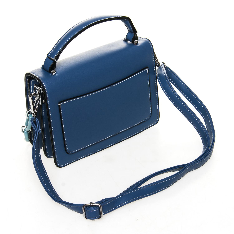 Сумка Женская Классическая иск-кожа FASHION 7-04 999912 blue - фото 4
