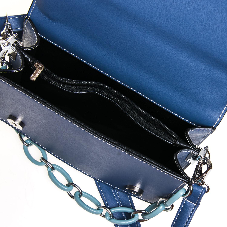 Сумка Женская Классическая иск-кожа FASHION 7-04 999912 blue - фото 5