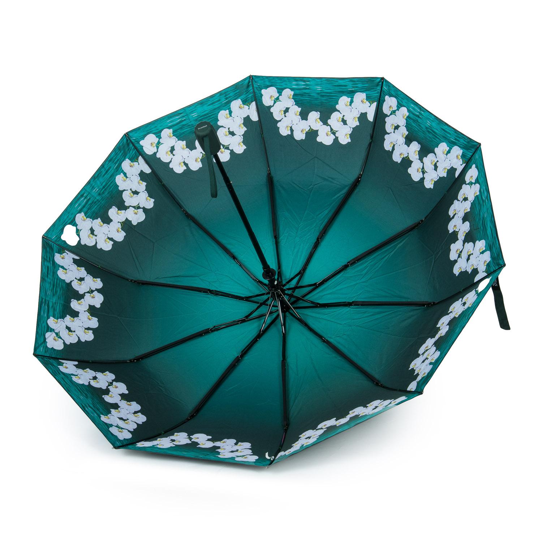 Зонт Полуавтомат Женский полиэстер 516-5 цветы - фото 3