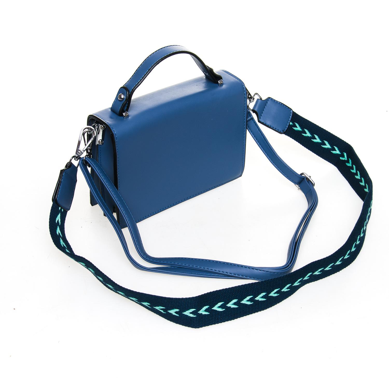 Сумка Женская Классическая иск-кожа FASHION 7-04 88025 blue - фото 4