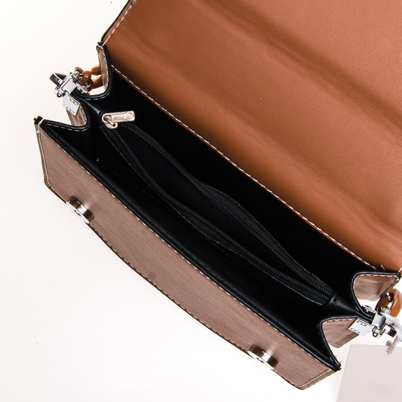 Сумка Женская Классическая иск-кожа FASHION 7-04 999912 brown - фото 5