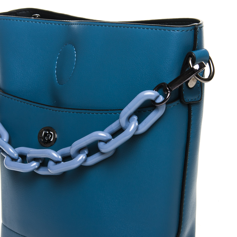 Сумка Женская Классическая иск-кожа FASHION 7-04 1071 blue - фото 3
