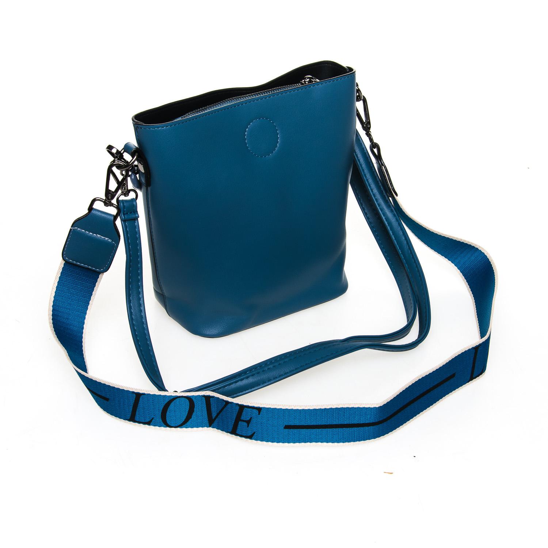 Сумка Женская Классическая иск-кожа FASHION 7-04 1071 blue - фото 4