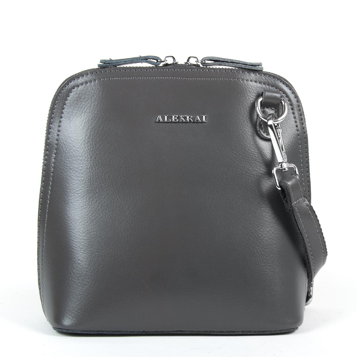 Сумка Женская Клатч кожа ALEX RAI 9-01 8803 grey