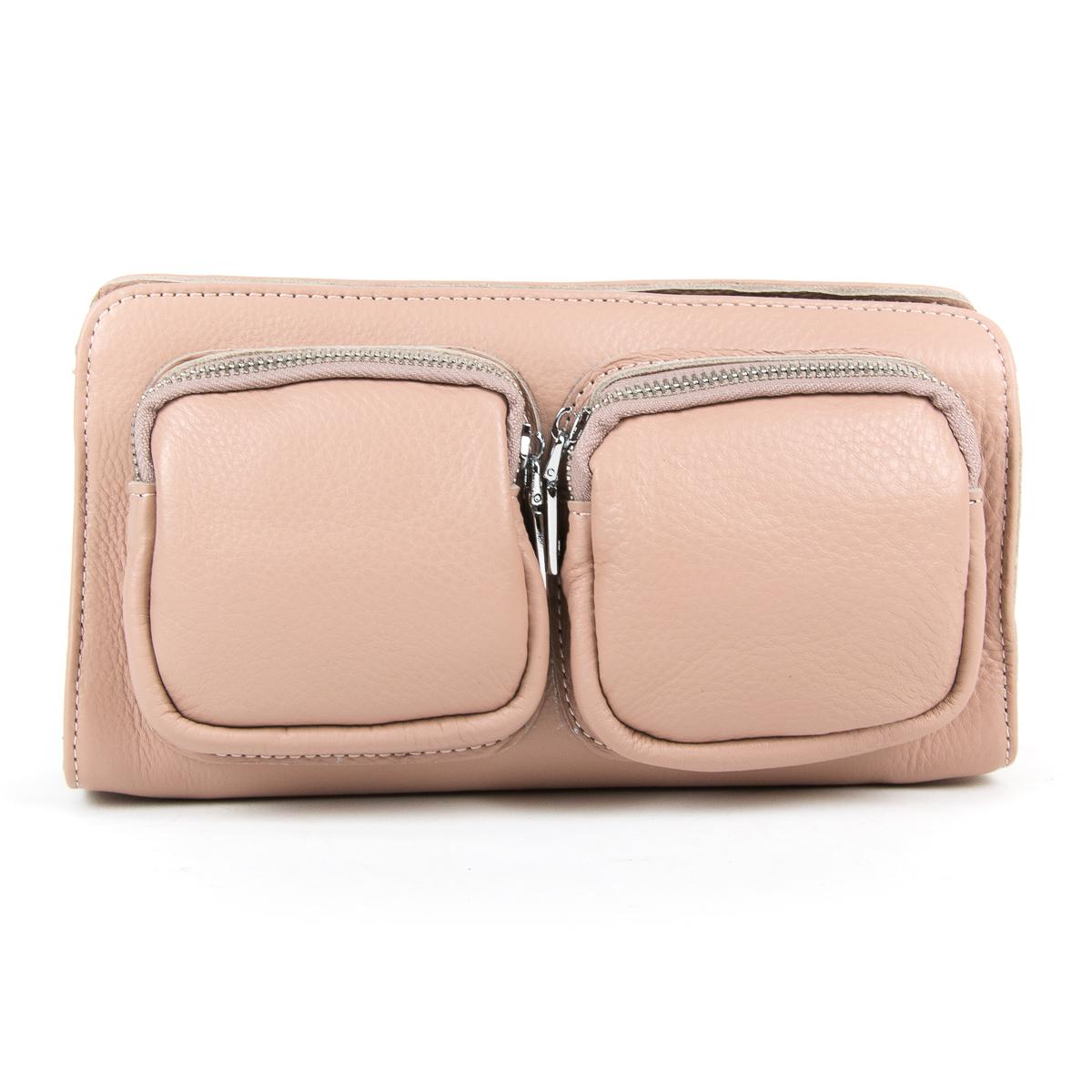 Сумка Женская Клатч кожа ALEX RAI 9-01 8785-9 pink