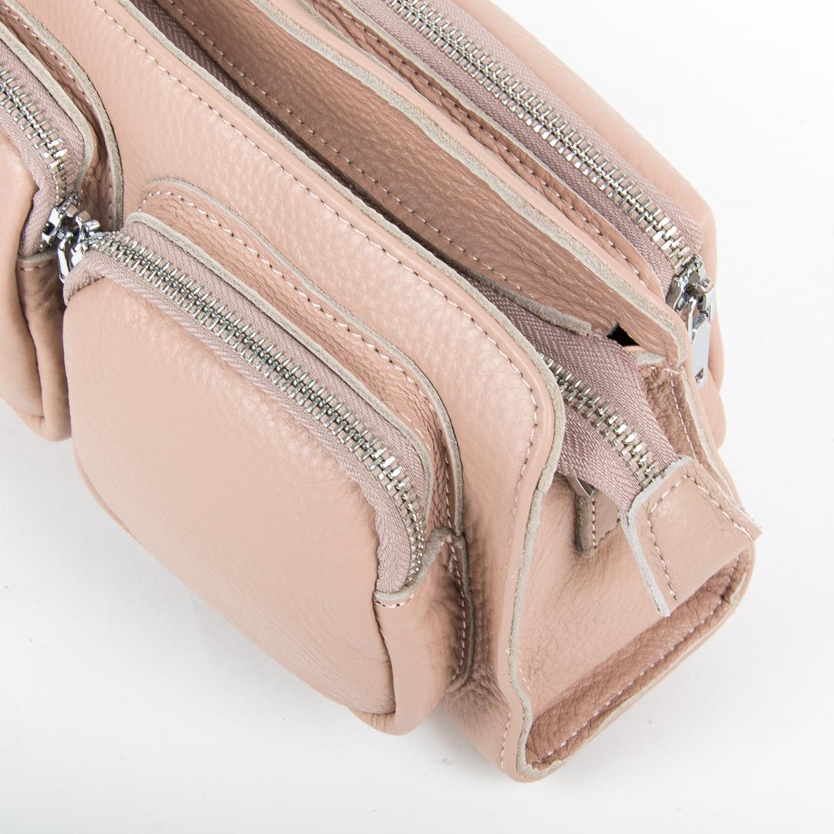 Сумка Женская Клатч кожа ALEX RAI 9-01 8785-9 pink - фото 3