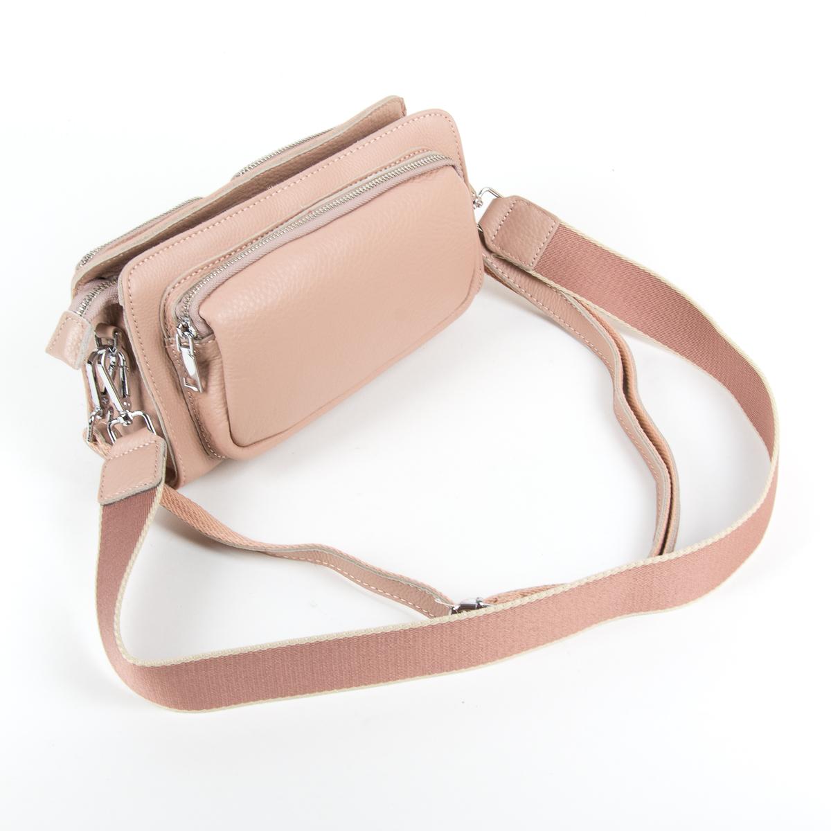 Сумка Женская Клатч кожа ALEX RAI 9-01 8785-9 pink - фото 4