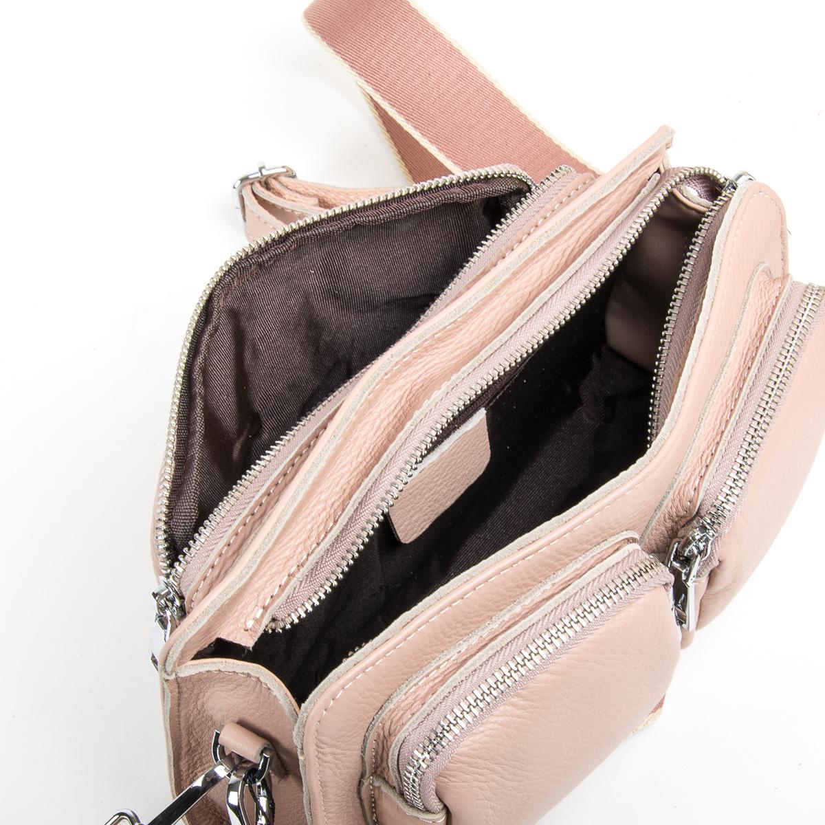 Сумка Женская Клатч кожа ALEX RAI 9-01 8785-9 pink - фото 5