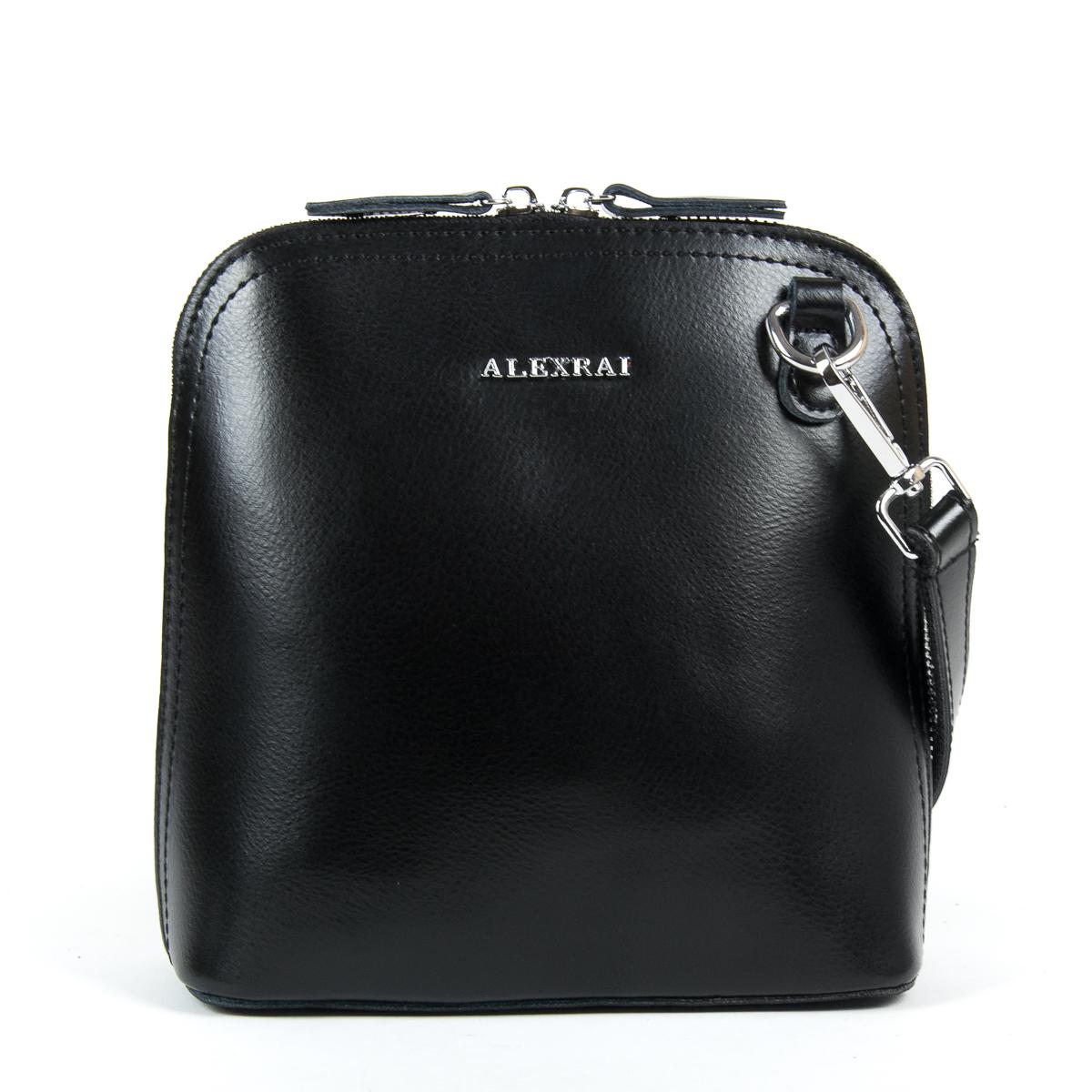 Сумка Женская Клатч кожа ALEX RAI 9-01 8803 black