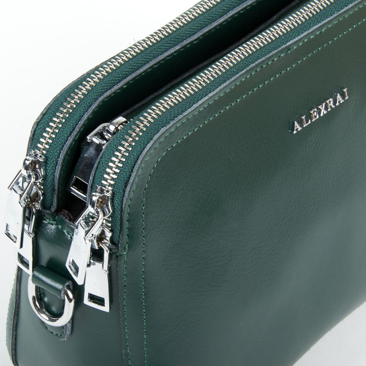 Сумка Женская Клатч кожа ALEX RAI 9-01 8725 green - фото 3