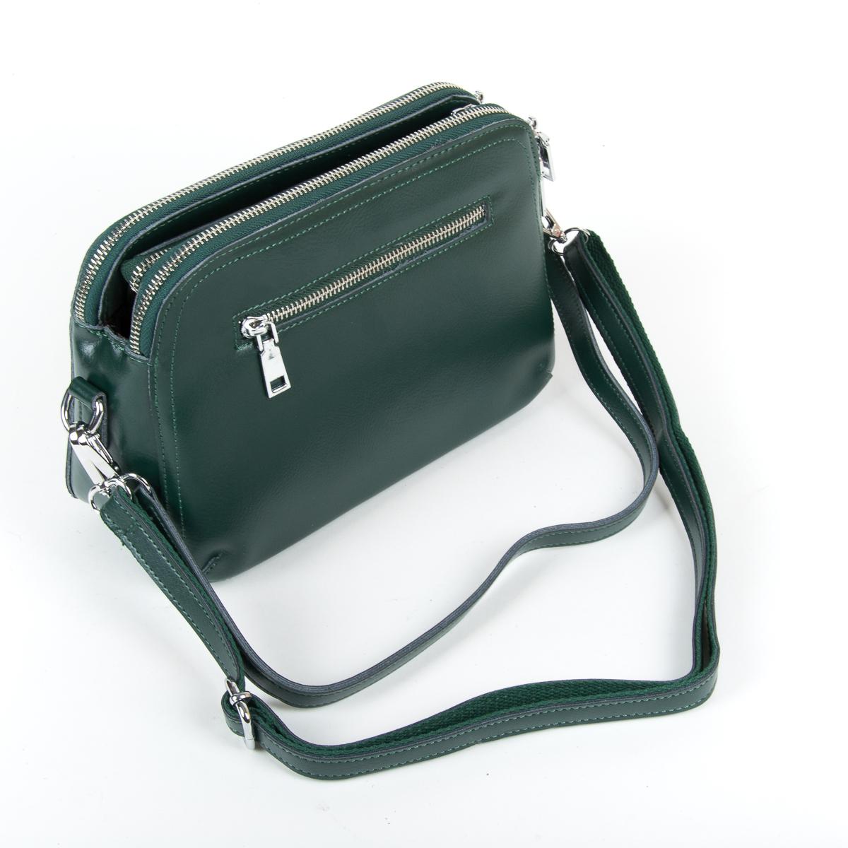 Сумка Женская Клатч кожа ALEX RAI 9-01 8725 green - фото 4