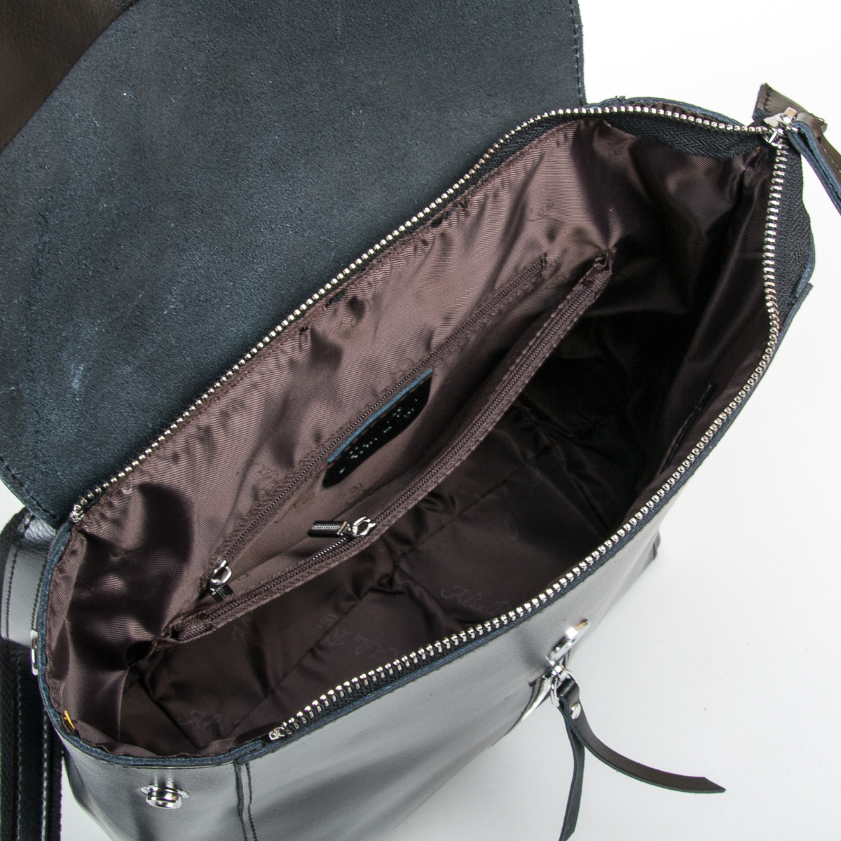 Сумка Женская Рюкзак кожа ALEX RAI 9-01 373 black - фото 5