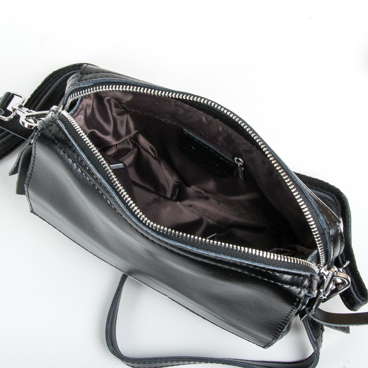 Сумка Женская Клатч кожа ALEX RAI 9-01 2227 black - фото 5