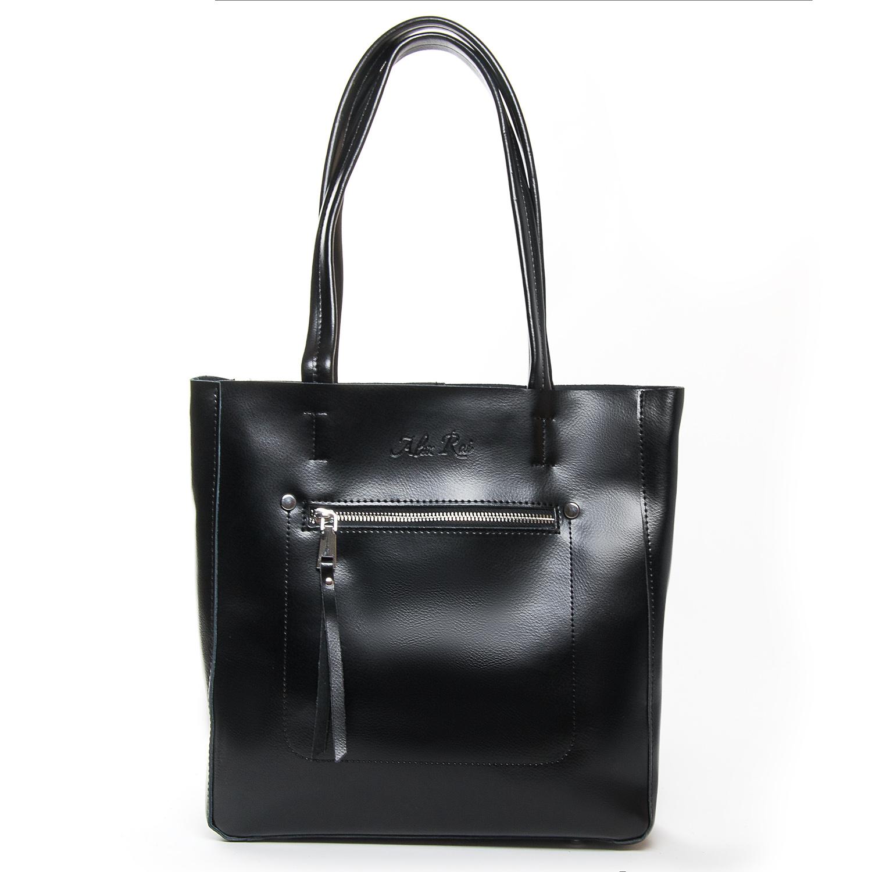Сумка Женская Классическая кожа ALEX RAI 9-01 8773 black