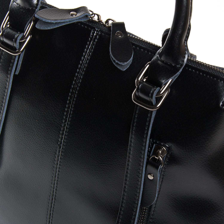 Сумка Женская Классическая кожа ALEX RAI 9-01 330 black - фото 3