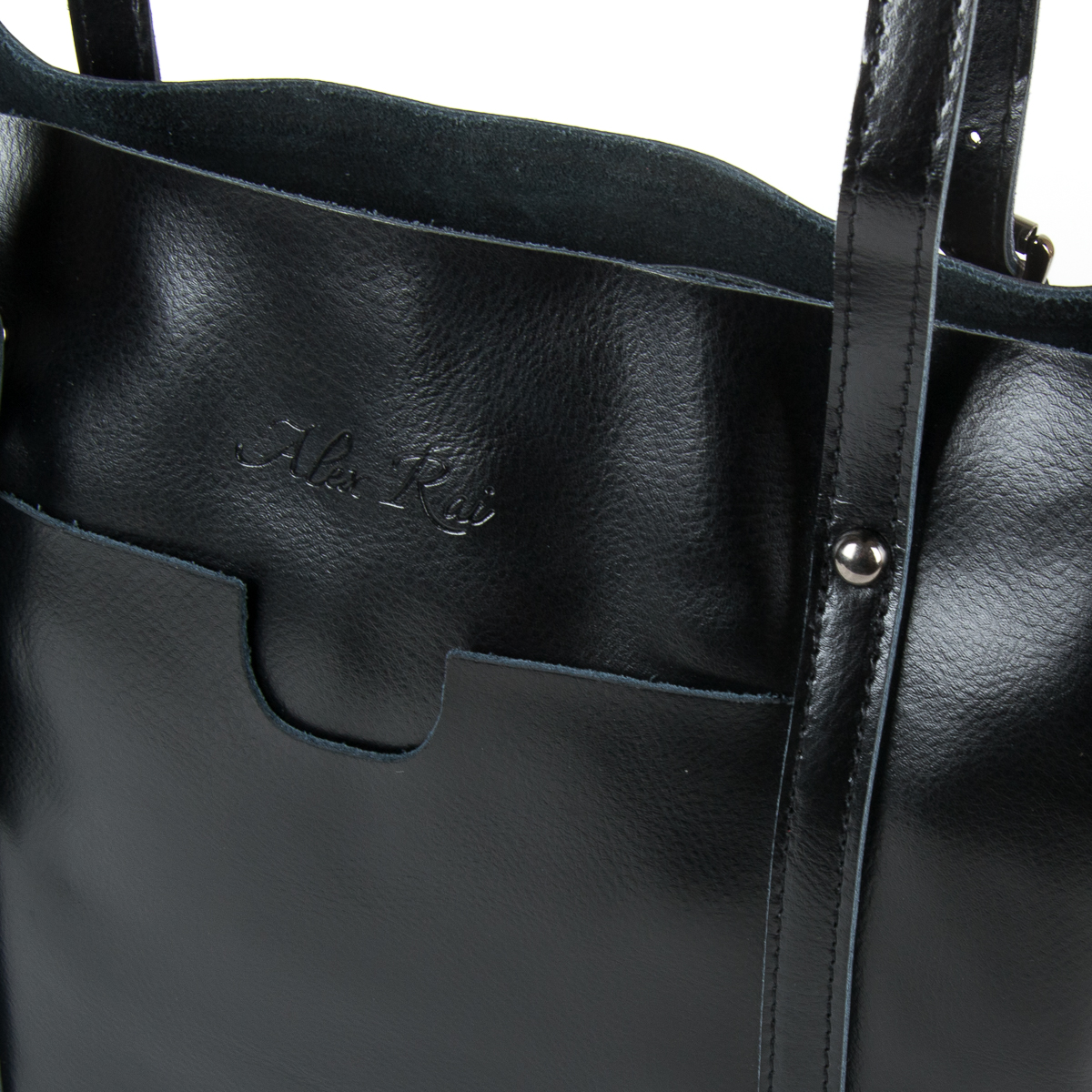 Сумка Женская Классическая кожа ALEX RAI 9-01 1535 black - фото 3