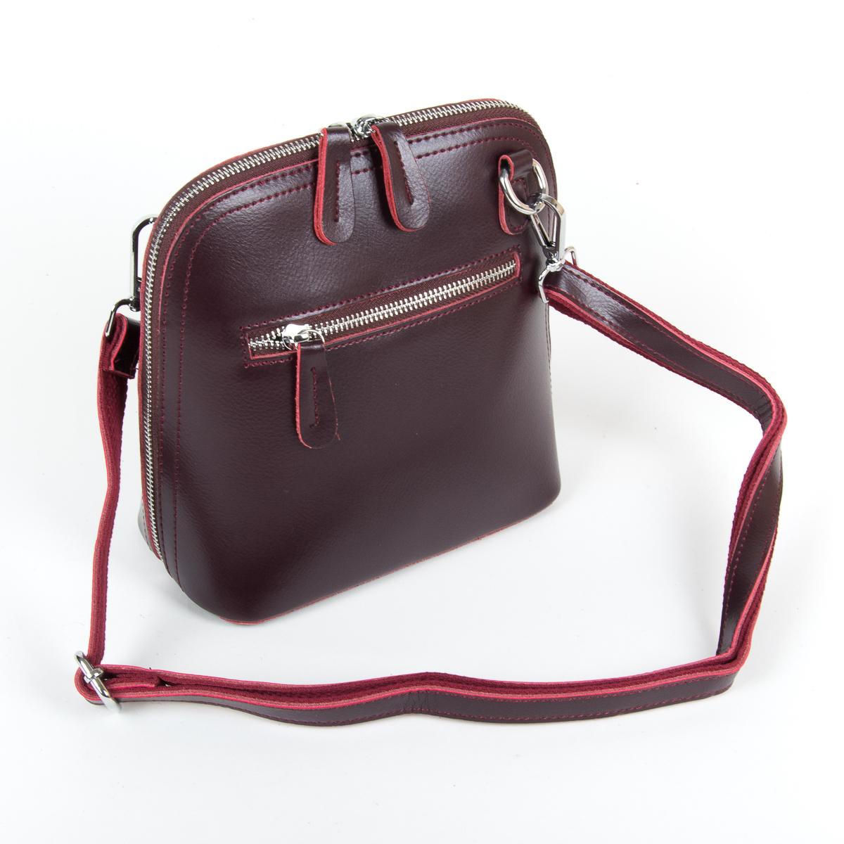 Сумка Женская Клатч кожа ALEX RAI 9-01 8803 burgundy - фото 4