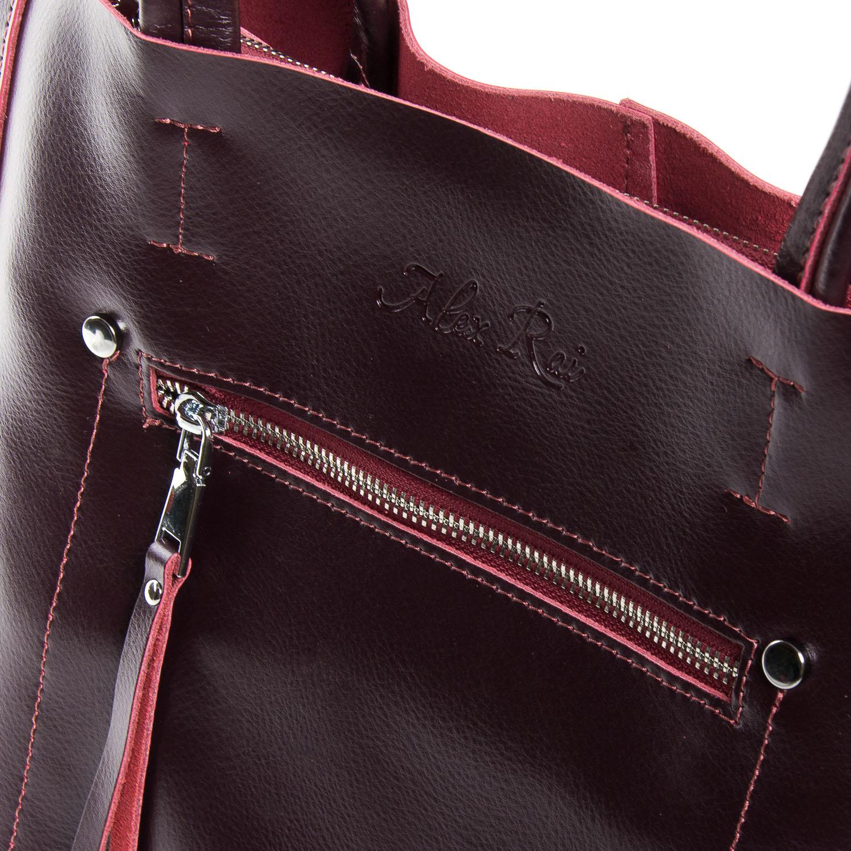 Сумка Женская Классическая кожа ALEX RAI 9-01 8773 clared - фото 3