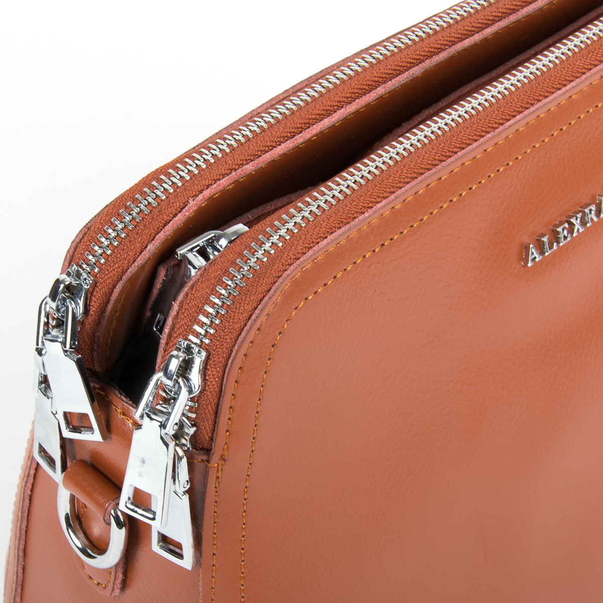 Сумка Женская Клатч кожа ALEX RAI 9-01 8725 taupe - фото 3