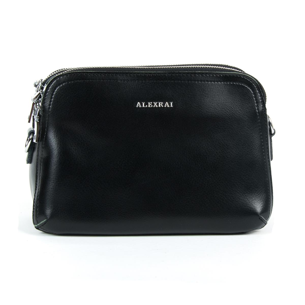 Сумка Женская Клатч кожа ALEX RAI 9-01 8725 black