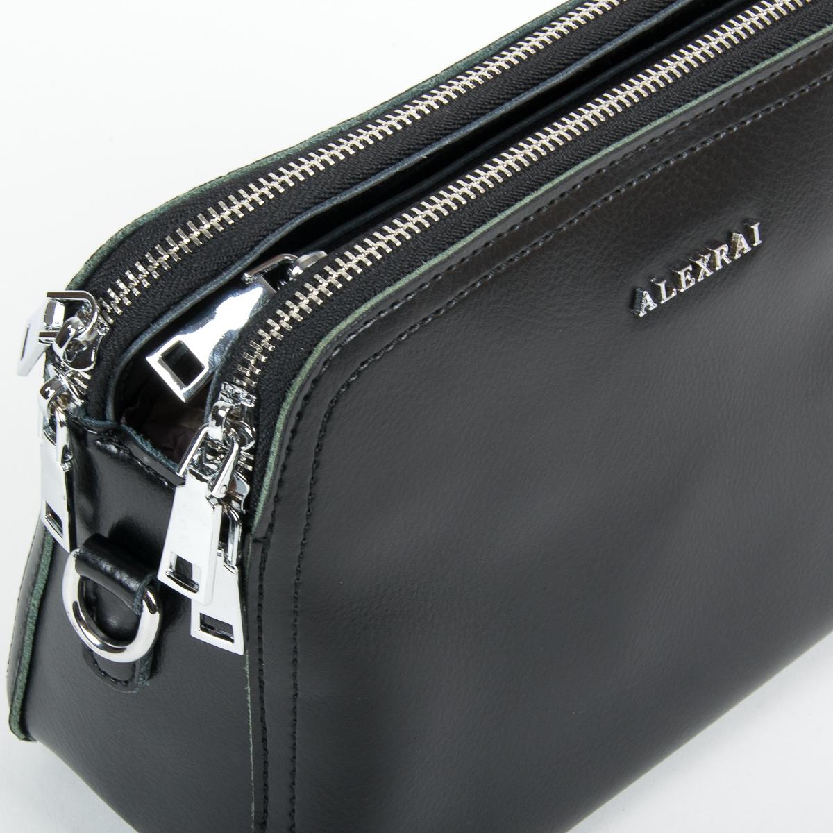 Сумка Женская Клатч кожа ALEX RAI 9-01 8725 black - фото 3