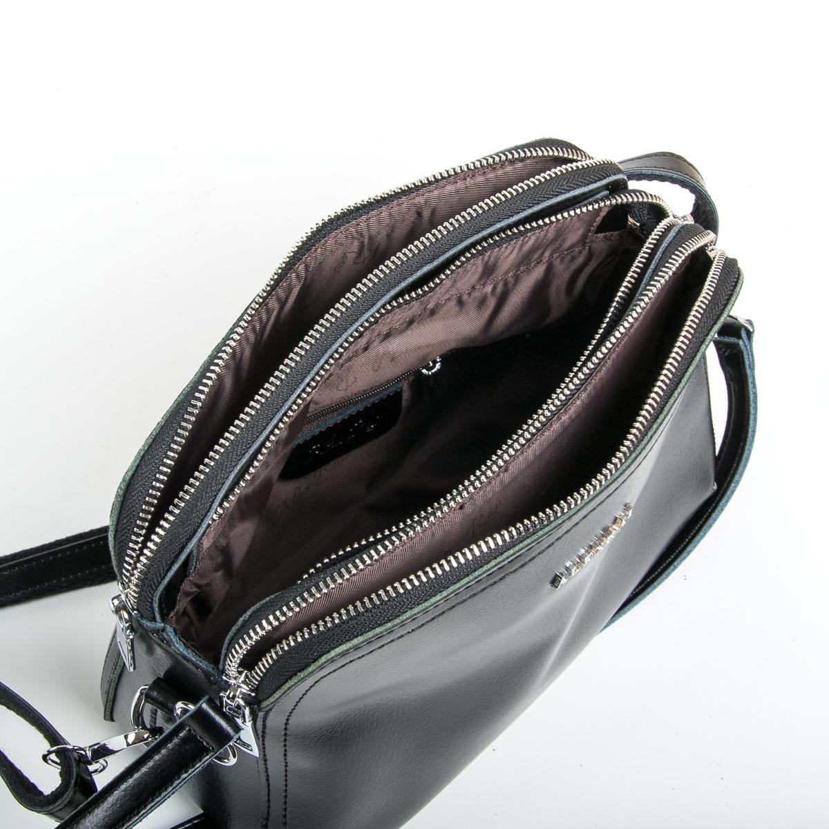 Сумка Женская Клатч кожа ALEX RAI 9-01 8725 black - фото 5