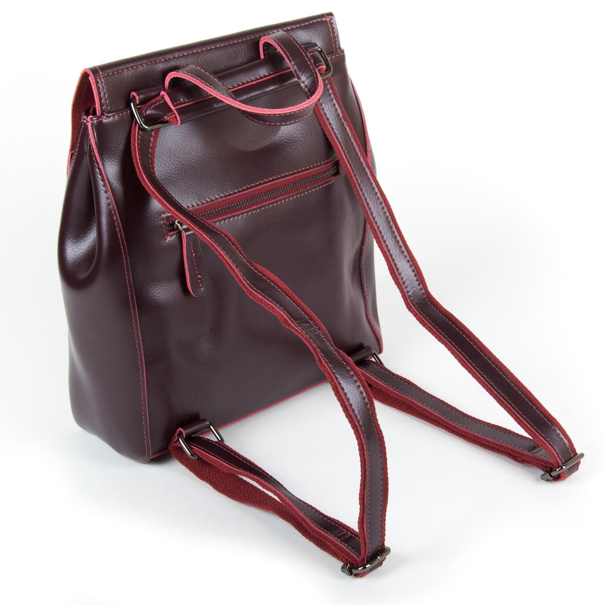 Сумка Женская Рюкзак кожа ALEX RAI 9-01 1005 clared - фото 4
