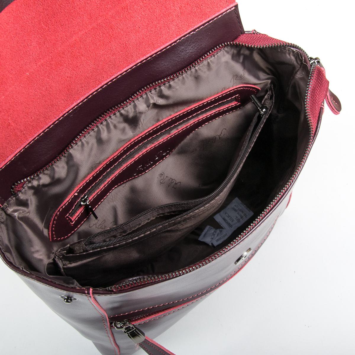 Сумка Женская Рюкзак кожа ALEX RAI 9-01 1005 clared - фото 5