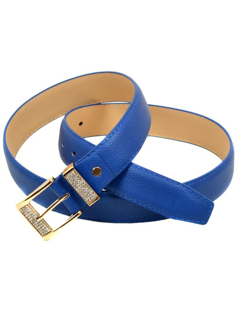 Ремень Женский иск-кожа H2115-4 blue