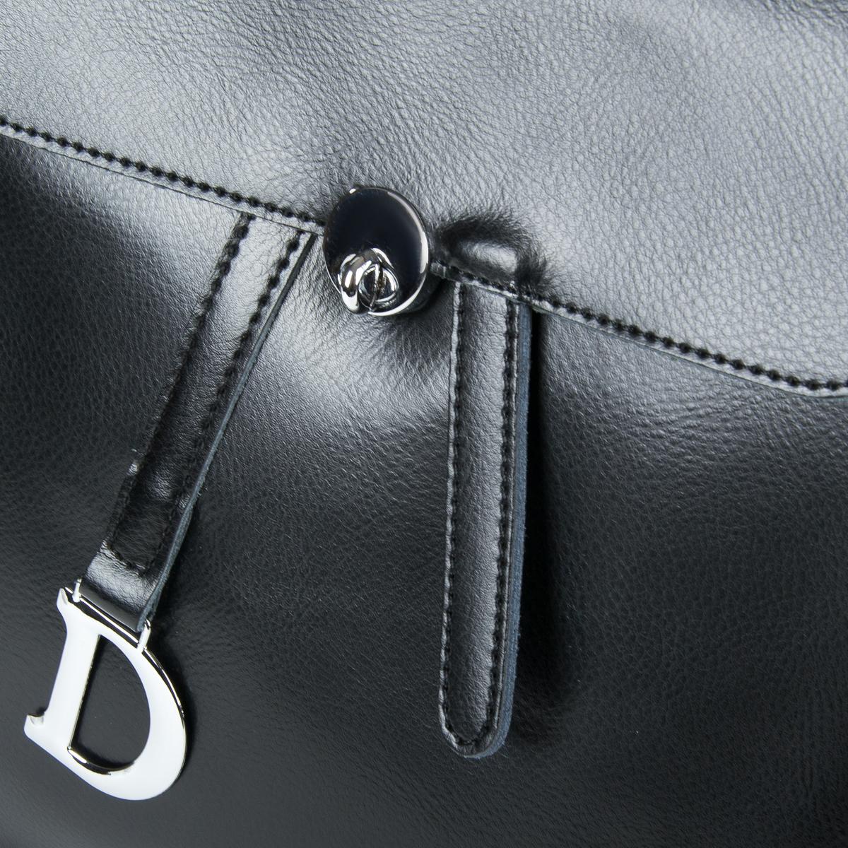 Сумка Женская Рюкзак кожа ALEX RAI 9-01 360 black - фото 3