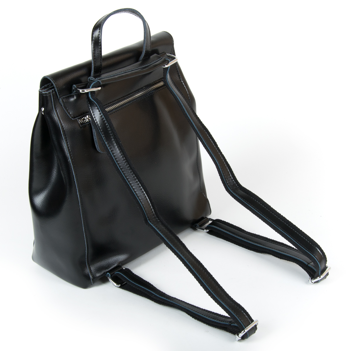 Сумка Женская Рюкзак кожа ALEX RAI 9-01 360 black - фото 4