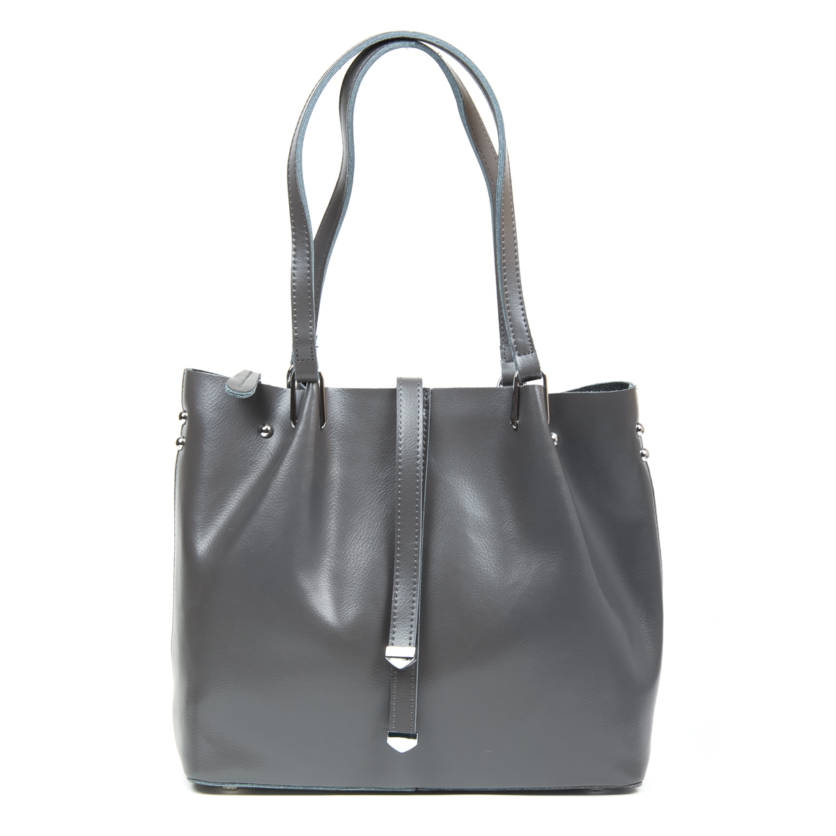 Сумка Женская Классическая кожа ALEX RAI 9-01 317 grey