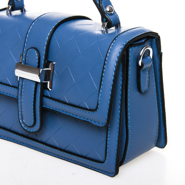 Сумка Женская Классическая иск-кожа FASHION 7-05 9716 blue - фото 3