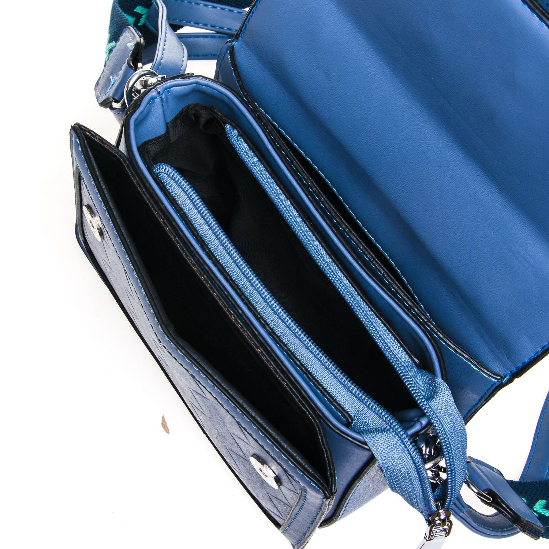 Сумка Женская Классическая иск-кожа FASHION 7-05 9716 blue - фото 5