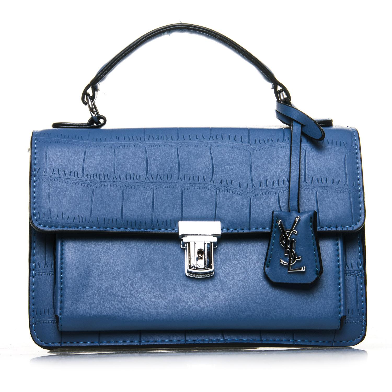 Сумка Женская Классическая иск-кожа FASHION 7-05 1069 blue