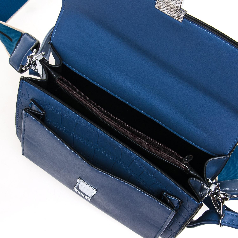 Сумка Женская Классическая иск-кожа FASHION 7-05 1069 blue - фото 5