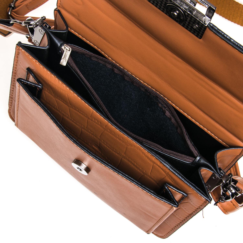 Сумка Женская Классическая иск-кожа FASHION 7-05 1070 brown - фото 5