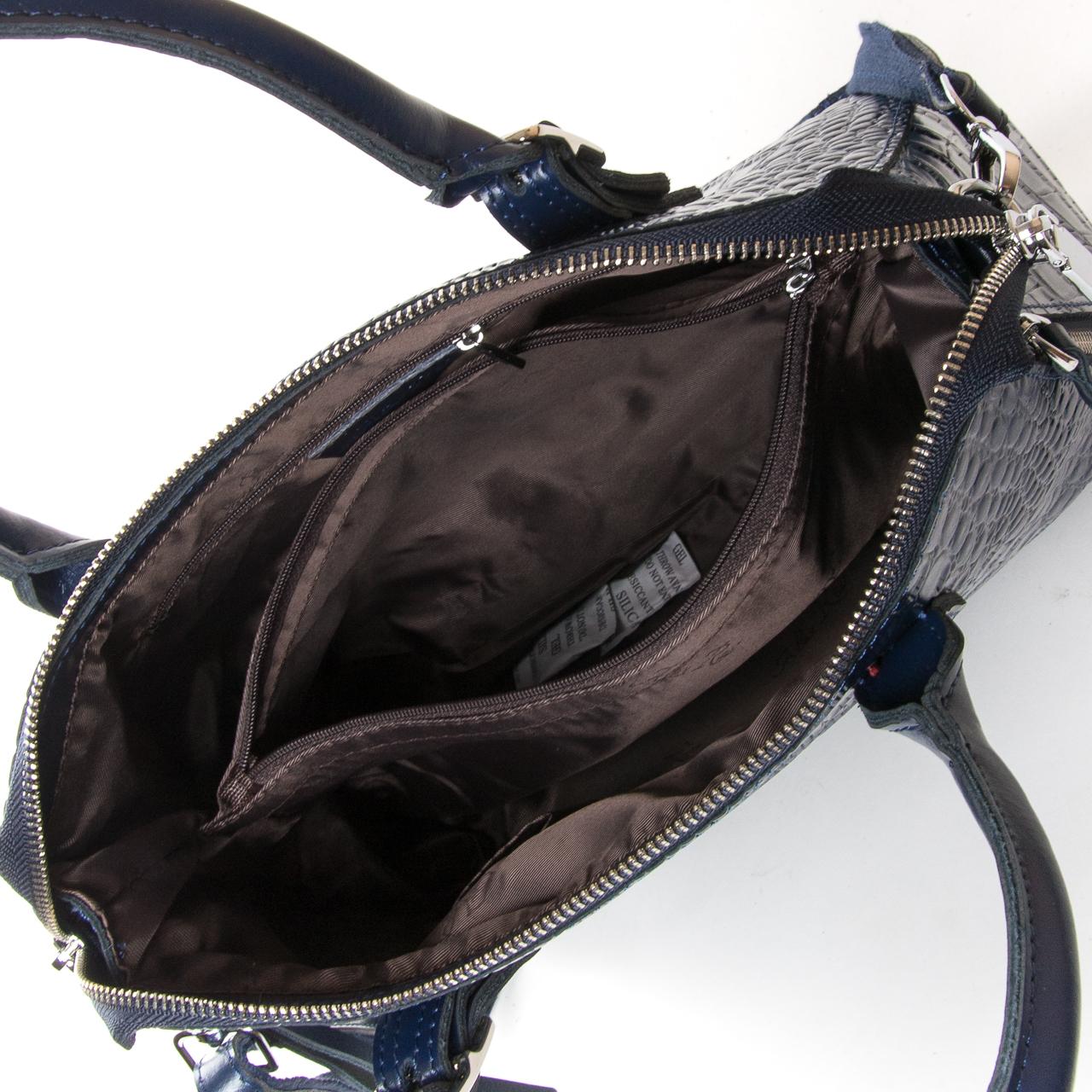 Сумка Женская Классическая кожа ALEX RAI 9-02 1543 blue - фото 5