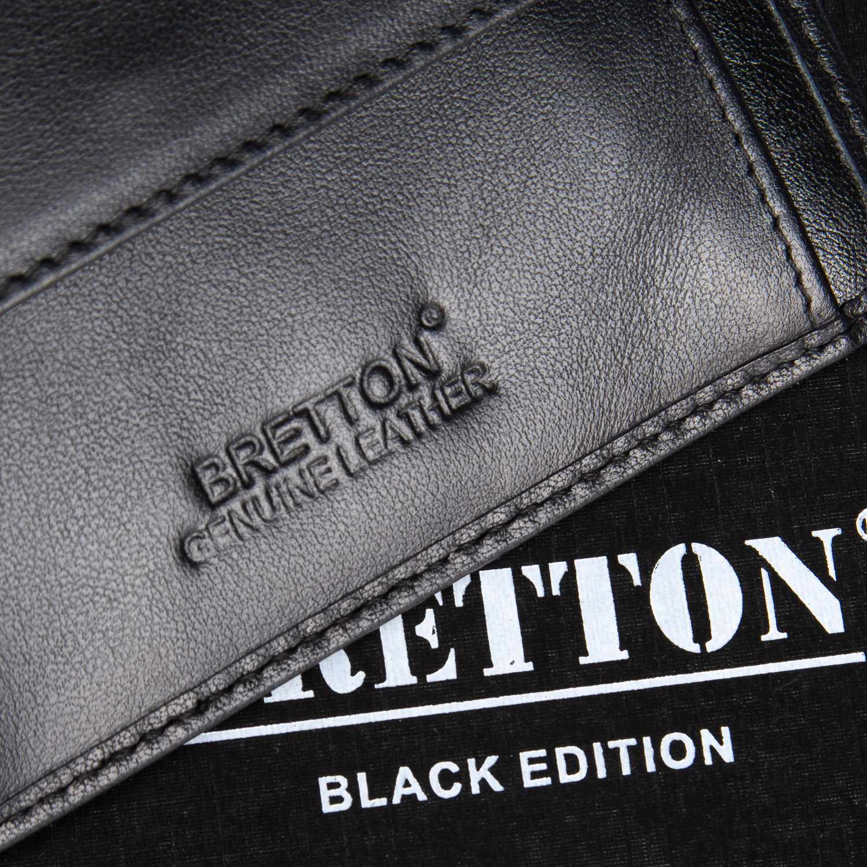 Кошелек NAPPA кожа BRETTON M3722 black - фото 3
