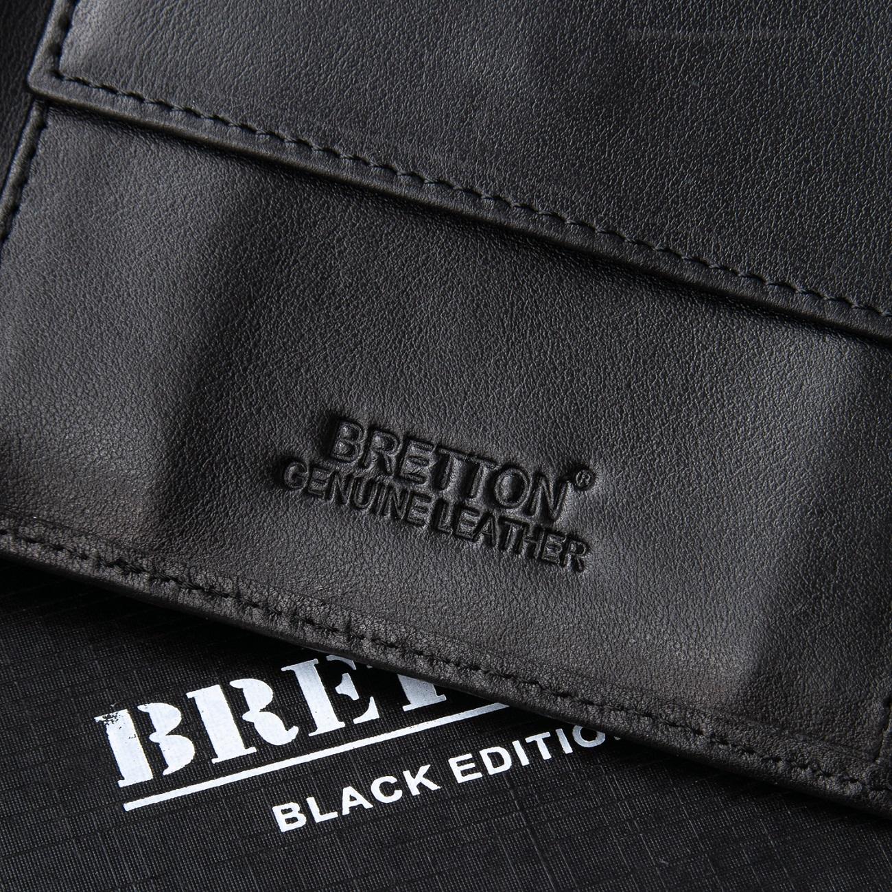 Кошелек NAPPA кожа BRETTON M3707 black - фото 4