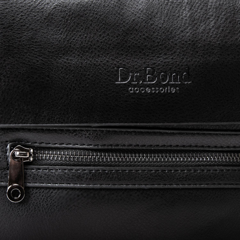 Сумка Мужская Планшет иск-кожа DR. BOND GL 315-3 black - фото 3