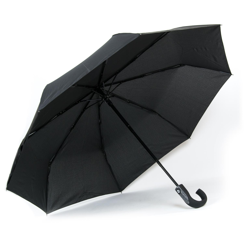 Зонт Автомат Мужской понж 0130264 black - фото 3