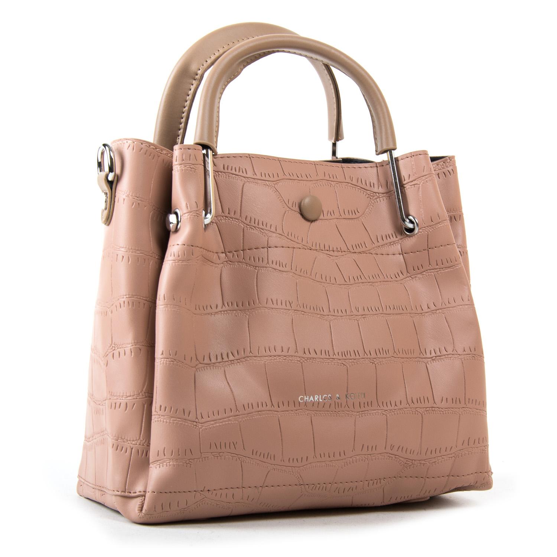 Сумка Женская Классическая иск-кожа FASHION 2-011 1076 pink